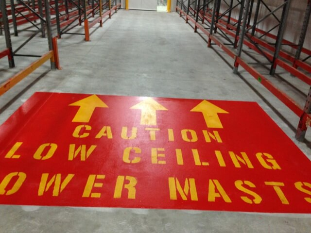 Warehouse Line Marking Melbourne